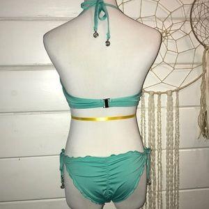 H&M Swim - H&M teal dream catcher bikini